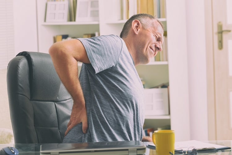 back pain is common for many adults
